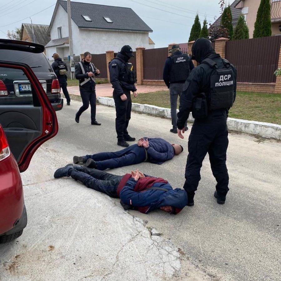 Арест похитителей