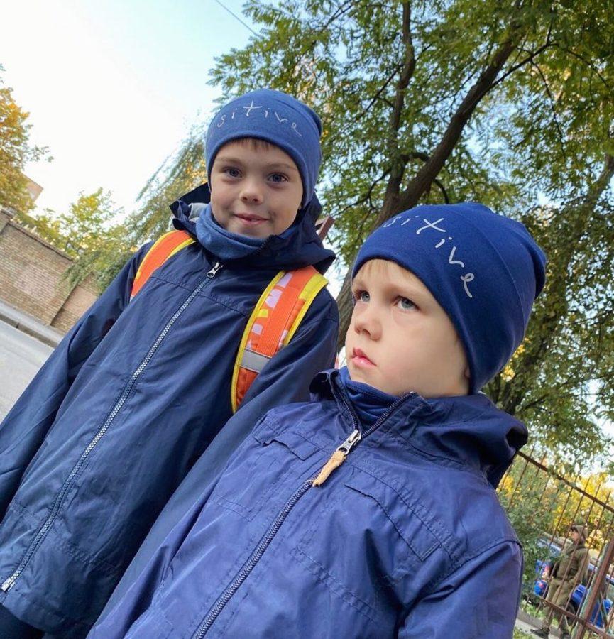 Сыновья Alyosha и Тараса - Роман и Марк