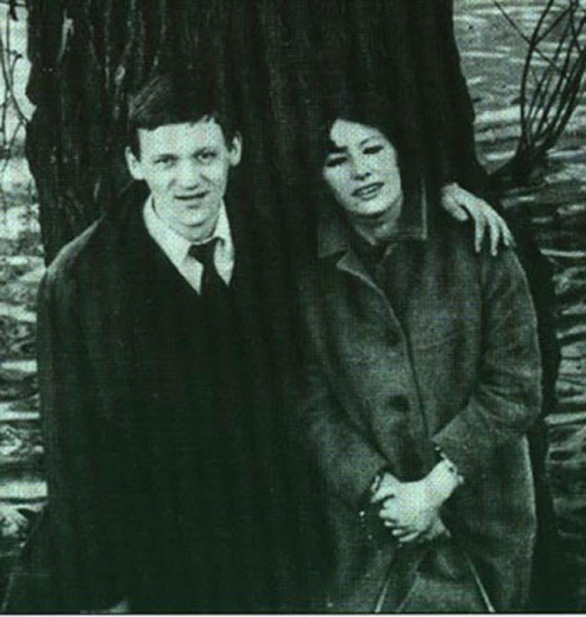 Миколас Орбакас і Пугачова під час навчання в естрадно-цирковому училищі