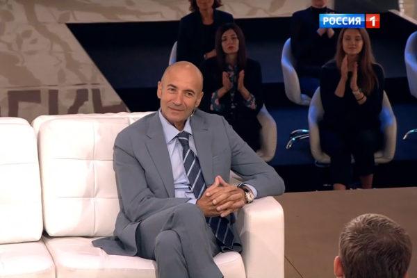 Игорь Крутой в «Судьбе человека»