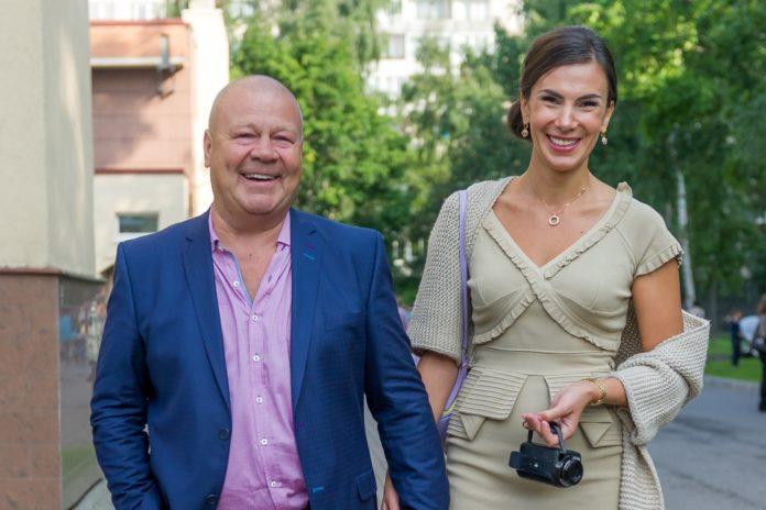 Сергій Селін з дружиною Ганною