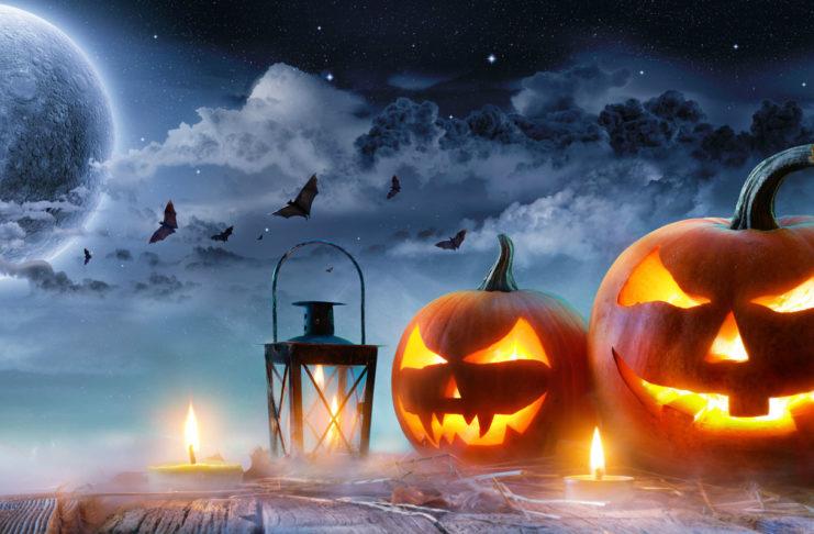 Полнолуние и Хэллоуин
