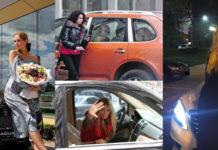 Авто знаменитых красоток