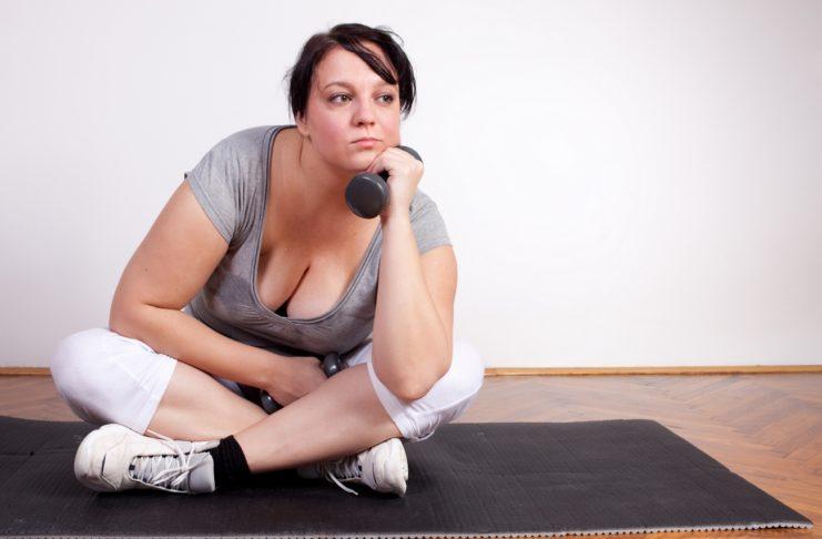 Только физические упражнения похудеть не помогут