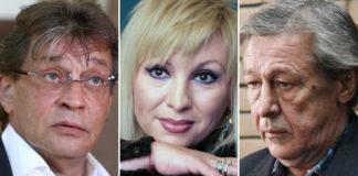 Александр Домогаров, Валентина Легкоступова, Михаил Ефремов