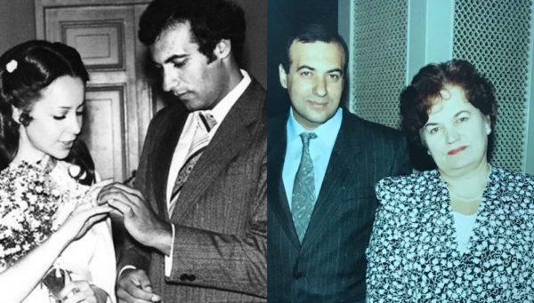 Игорь Крутой со своей первой женой и с мамой