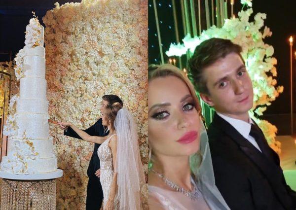 Сын Марченко Богдан со своей женой Катей