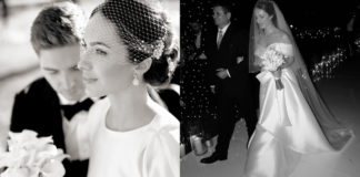 Христина Гірник на весіллі
