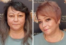 У новому образі жінка виглядає молодше