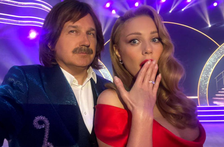 Юрий Горбунов и Тина Кароль