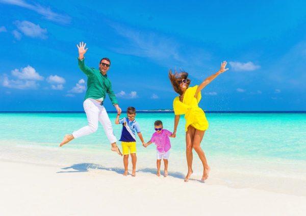 Решетники на Мальдивах
