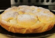 Пісочний пиріг з грушами