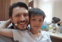 Притула і його син