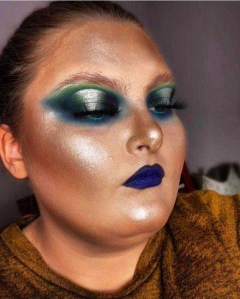 інопланетний макіяж