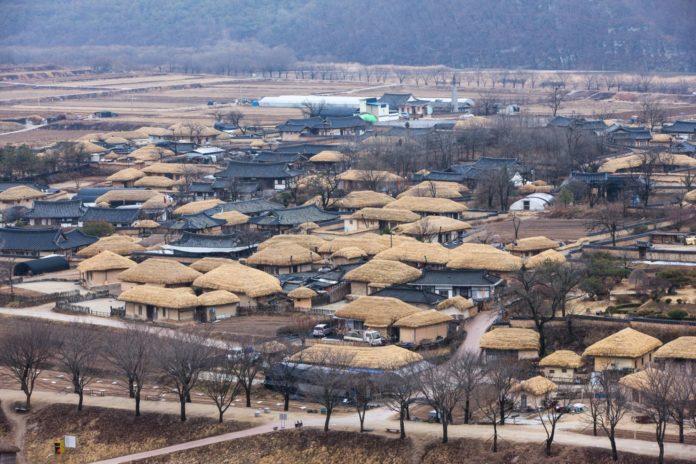 Корейское село