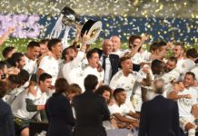 """""""Реал """" вперше в історії буде носити на футболках чемпіонський значок"""