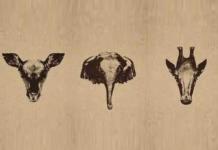 Скільки звірів на зображенні?