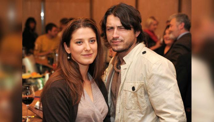Сергей Притула с бывшей женой Юлией
