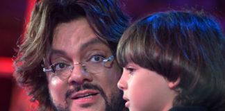 Філіп Кіркоров з сином Мартіном