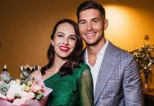 Владимир Остапчук и его жена Кристина Остапчук (Горняк)