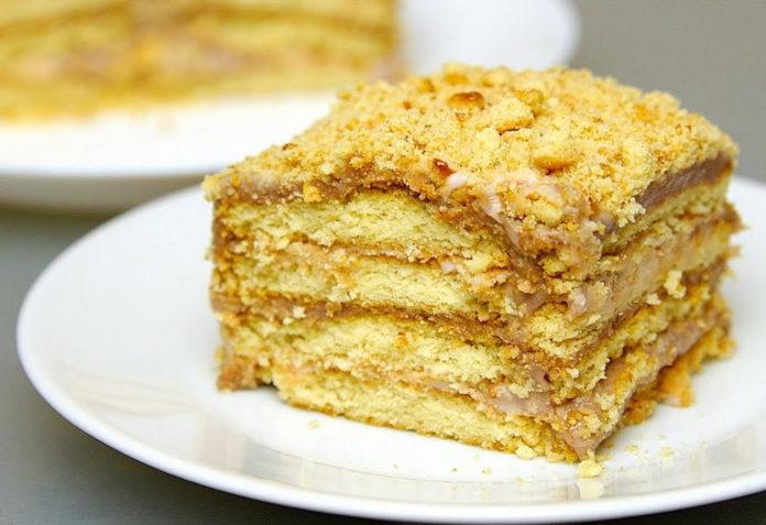 Лінивий торт