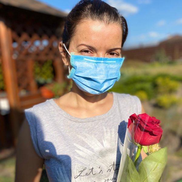 Маричка Падалко во время болезни
