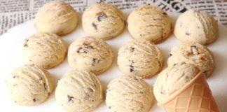 Оригинальное песочное печенье с шоколадом