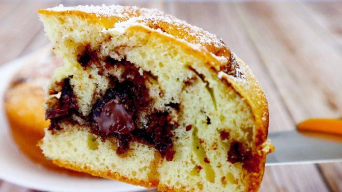 Швидкий пиріг з нутелою