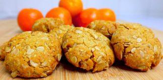 Домашнее печенье с орехами и овсяными хлопьями