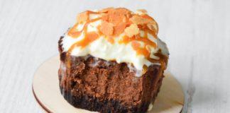 Шоколадные мини-чизкейки: простой рецепт