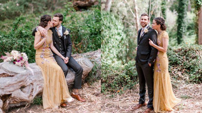 Весільна фотосесія з єнотами