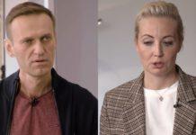 Алексей Навальный и Юлия Навальная дали первое интервью после отравления