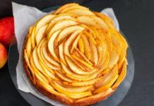 Яблучний пиріг без борошна