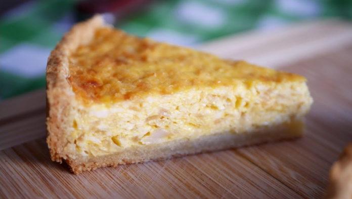 Закусочный луковый пирог
