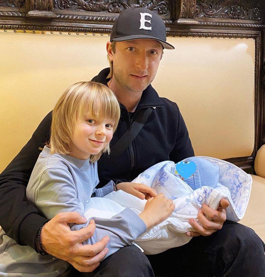 Плющенко з синами