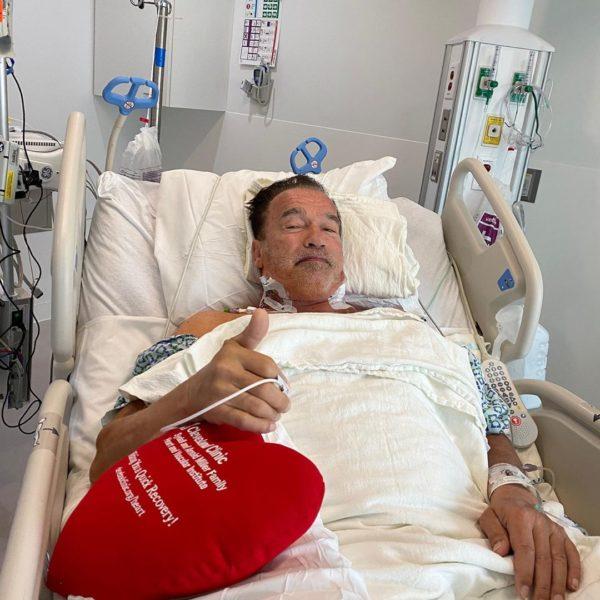 Арнольд в больнице