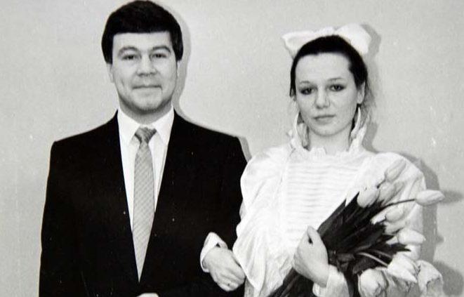 Весілля Селіна з першою дружиною Ганною