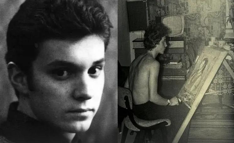 Георгій Делієв в юності