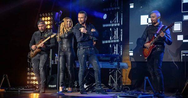 Олег Винник і Таюне на концерті