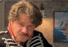 """Гарик Харламов в фильме """"Гусар"""""""