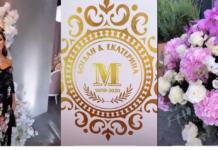 Фото з весілля сина Оксани Марченко