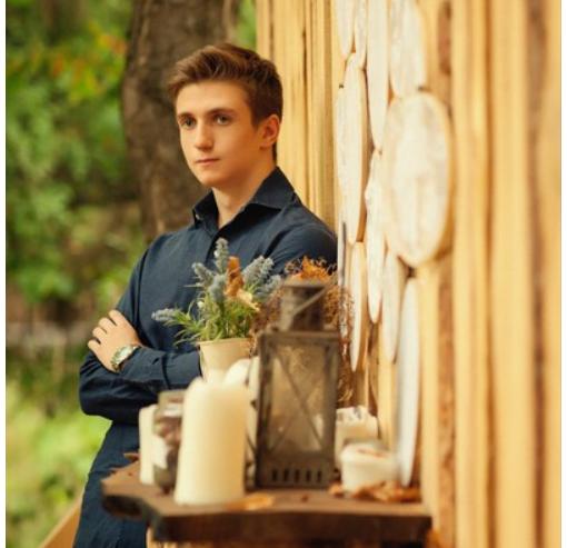 Богдан Корж, сын Оксаны Марченко