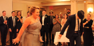 Свадебный танец мамы и сына