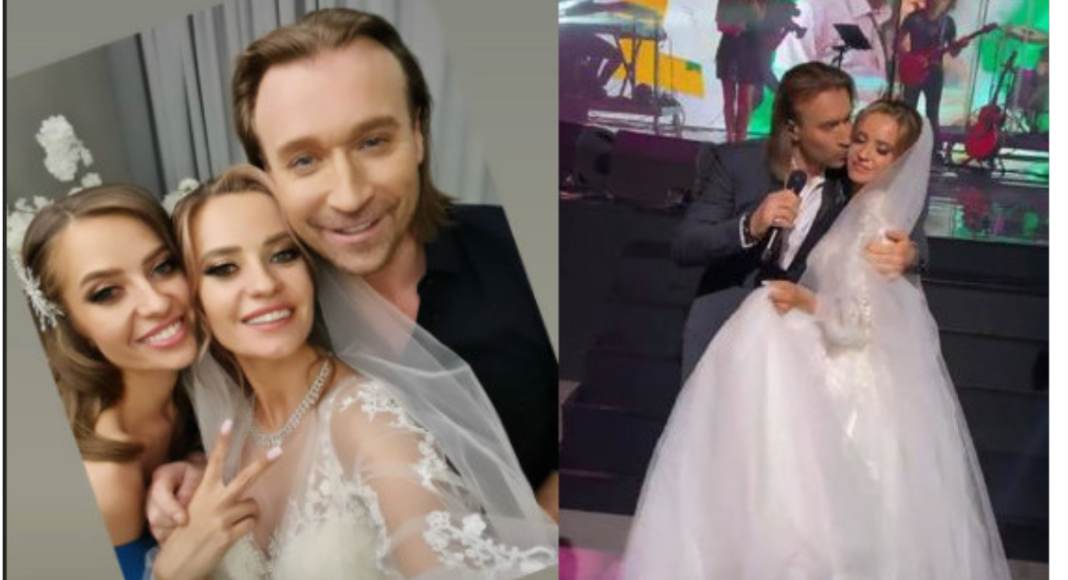 Олег Винник на свадьбе