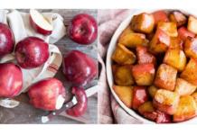 смажені яблука