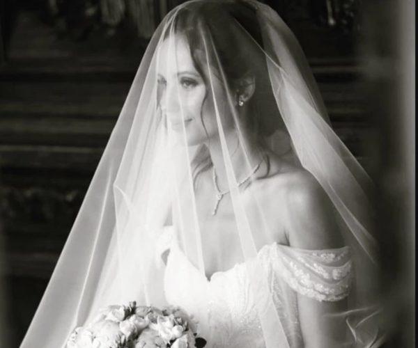 Світлана Лобода у весільній сукні