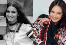 Софія Ротару в молодості