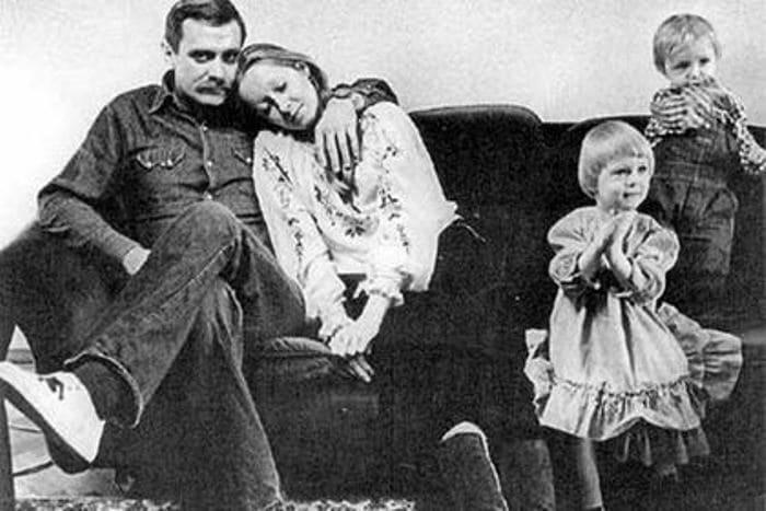 Микита Михалков з Тетяною Соловйової в молодості