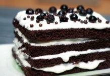 Торт за 4 минуты