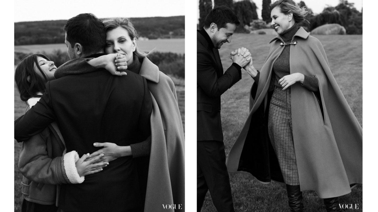 Снимок из фотосессии в Vogue
